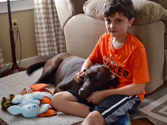 Trevor Lilley, 10, devoted his summer to taking care