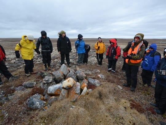 Ornithologist Steve Smith talks to an Adventure Canada