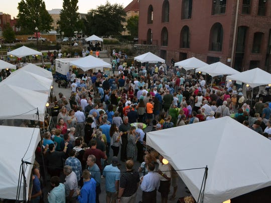 Hundreds gather in downtown Anderson for the annual