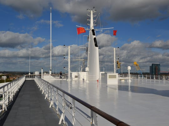 One of the most significant changes to the Queen Mary