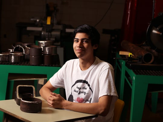 Aransas Pass High School student Rodrigo Orion Esparza was named a Corpus Christi Caller-Times/Citgo Distinguished Scholar in the category of career.