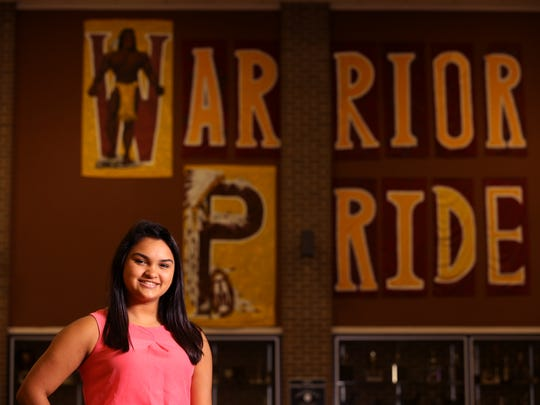Tuloso-Midway High School student Jaclyn Marie Cavazos was named as a Corpus Christi Caller-Times/Citgo Distinguished Scholar in the spirit and leadership category.
