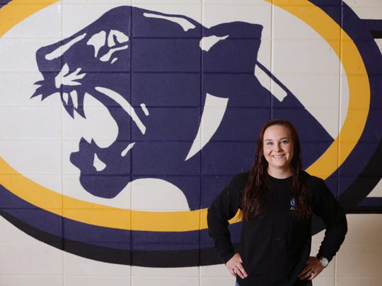 Aransas Pass High School student Eden Dawn Higgins was named  Caller-Times/Citgo Distinguished Scholar in the category of spirit.