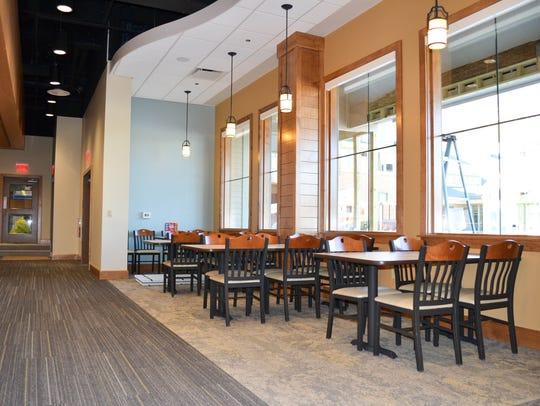 Day Break Cafe at Whitetail Resort seats 150 people.