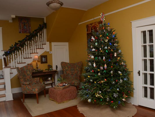 ANI Holiday Tour of Homes The Omar Bradley House located at 2014 Marye Street in Alexandria's Garden District Neighborhood is among those located on the Holiday Tour of Homes set for Saturday, Dec. 13, 2014.-Melinda Martinez/mmartinez@thetowntalk.com