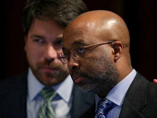 Memphis City Council members Philip Spinosa, Jr. and