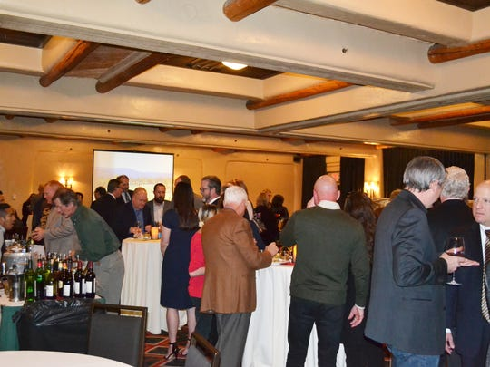 More than 80 Lincoln County, Village of Ruidoso and City of Ruidoso Downs representatives attended, along with chamber members, community members and business owners headed north to represent Southern New Mexico at the event held at the Inn and Spa at Loretto.