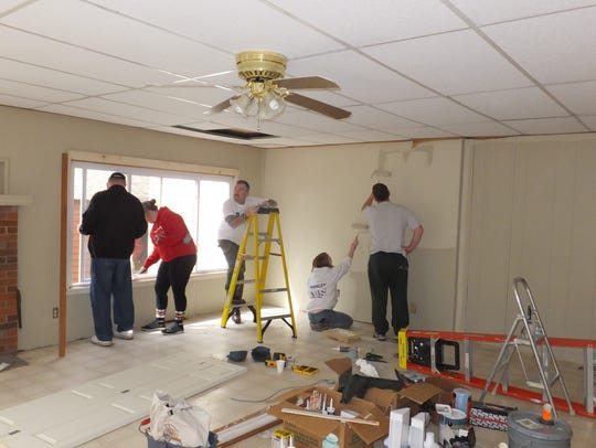 St. James Catholic Church volunteers have participating