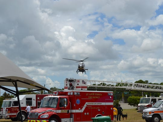 The annual St. Lucie County Safety Festival returns Saturday to First Data Field.