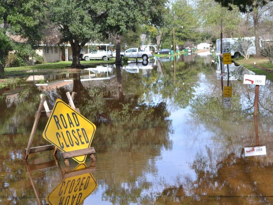 The Penny Acres subdivision just south of Alexandria,