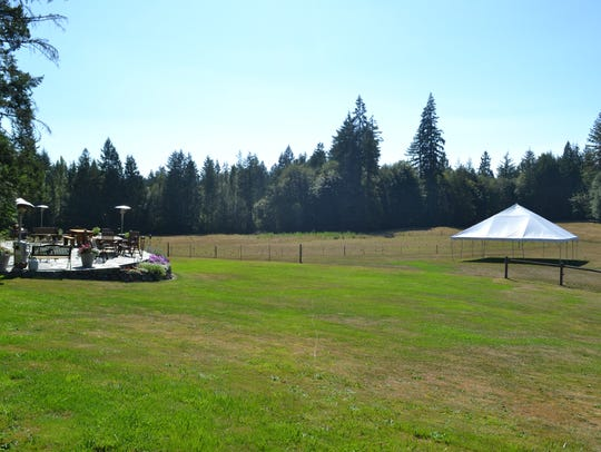 Bella Acres is a 25-acre outdoor event venue with tents,