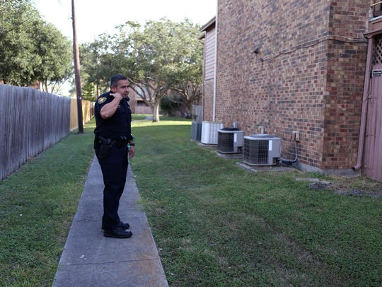 Corpus Christi Police Senior Officer Isaac Rodriguez