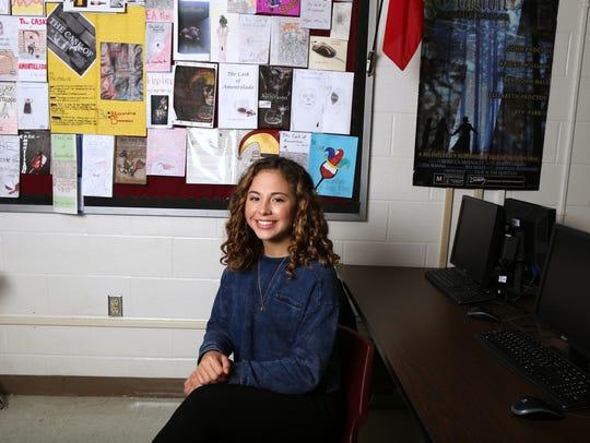 Calallen High School senior Noble McClure has been