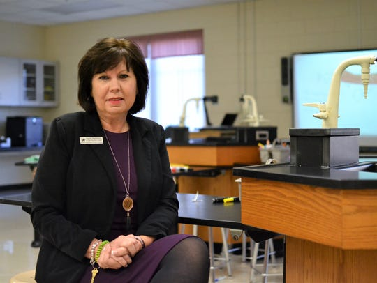 Sandy Bradshaw is Midway Elementary's STEAM Teacher