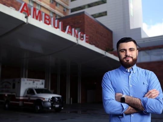 Nizar Alyassin, an emergency room technician at University