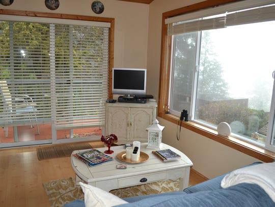 Linda Helms' Pebble Beach House has views of Hood Canal,