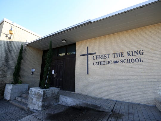 Christ the King Elementary School closed December 18,