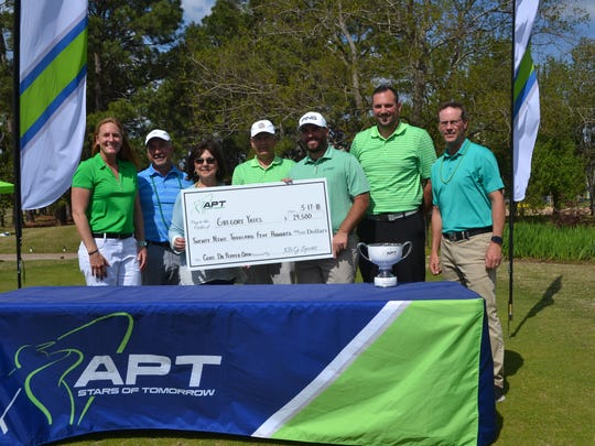 Golfer Greg Yates of Mansfield, Texas, earned $29,500