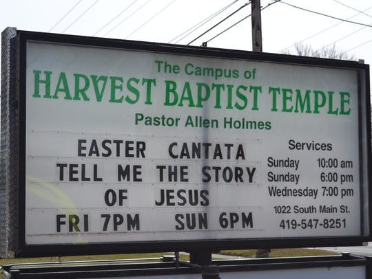 The public is invited to attend the Easter productions
