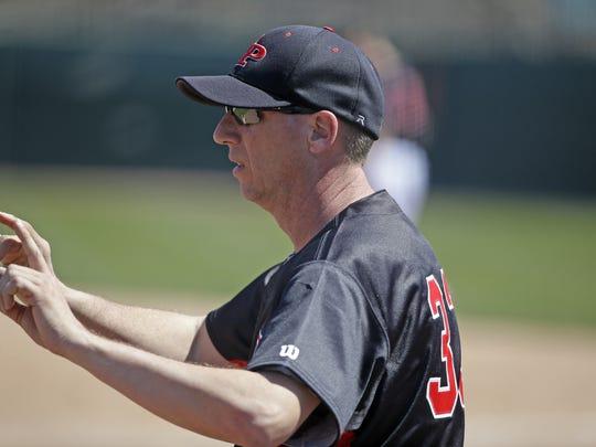 Stevens Point coach Kraig Terpstra.