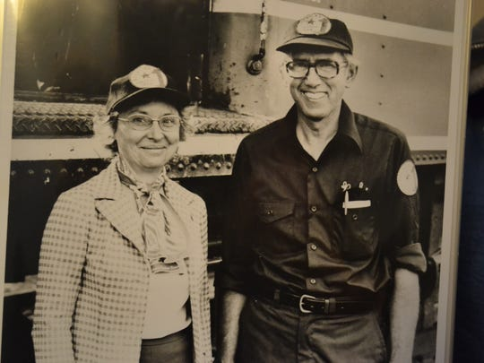 Bob and Bea Lorenz spent many of their 70 years together working in the steam train excursion business.