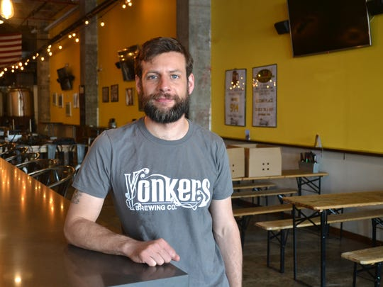 Ray Girard, the new head brewer at Yonkers Brewing