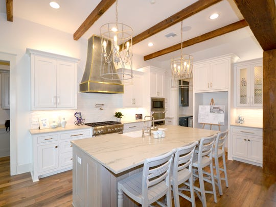 The amazing kitchen is full of top of the line amenities.