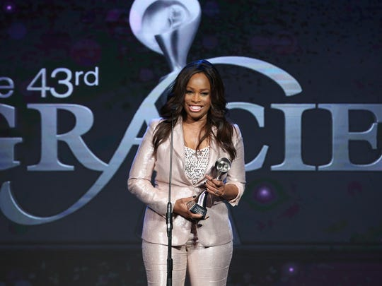 Florida A&M's Pam Oliver delivered a passionate acceptance