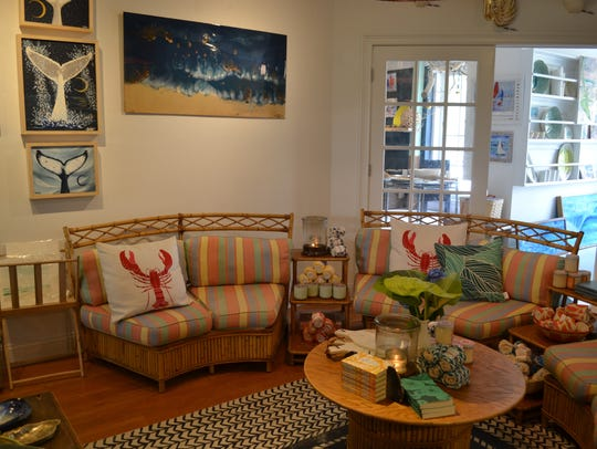 Noon Design Shop on Lake Avenue in Bay Head specializes