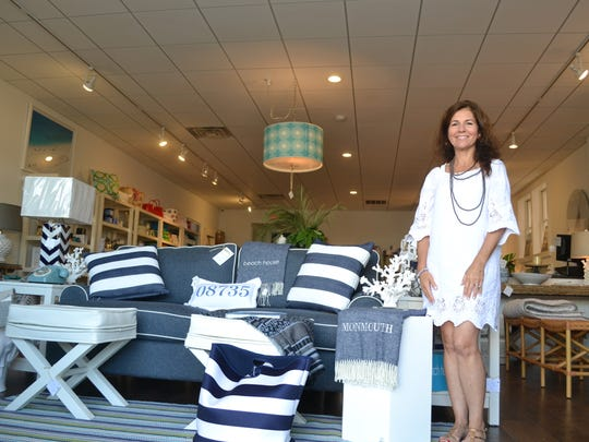 Owner Joanne Marino at the Beach Home on Grand Central
