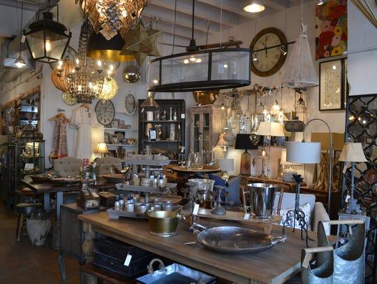 Environmentally friendly lighting and furniture at