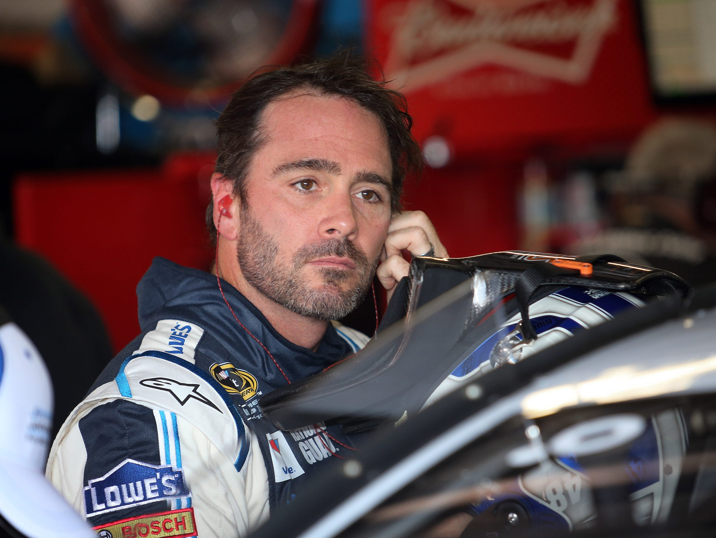 Jimmie Johnson won three straight races at the Las