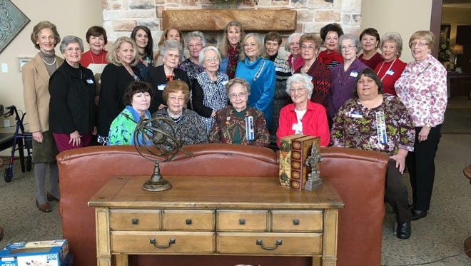 Members of the John Davis Chapter of the Daughters of the American Revolution met for a lunch and program on Jan. 14.