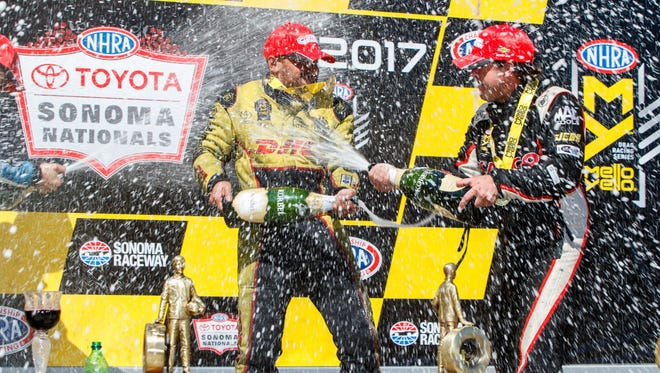 J R  Todd makes NHRA Funny Car history as first black champion