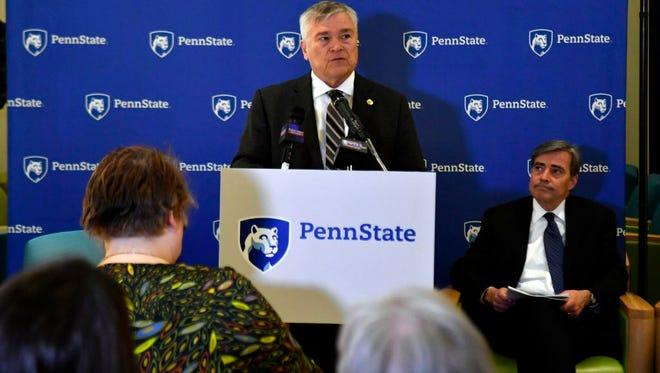 Penn State President Eric Barron
