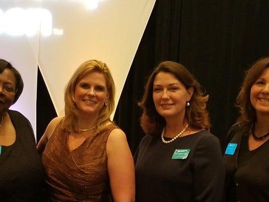 Dee Moore, Kristina Jones, Tancy Rampy and Cynthia