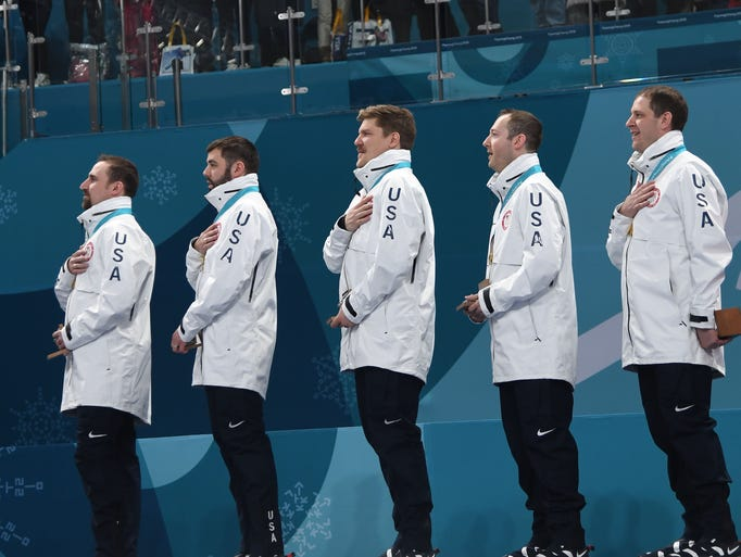 The Americans won gold in men's curling.