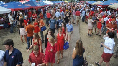 """University of Mississippi is named the #18 """"party school"""" by The Princeton Review, down two spots from 2013"""