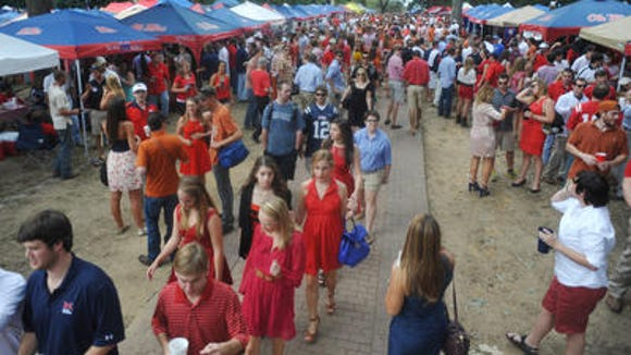 ole miss tailgating