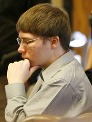 Brendan Dassey sits in court April 16, 2007 at the