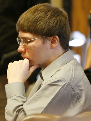 Brendan Dassey sits in court April 16, 2007 at the Manitowoc County Courthouse in Manitowoc.