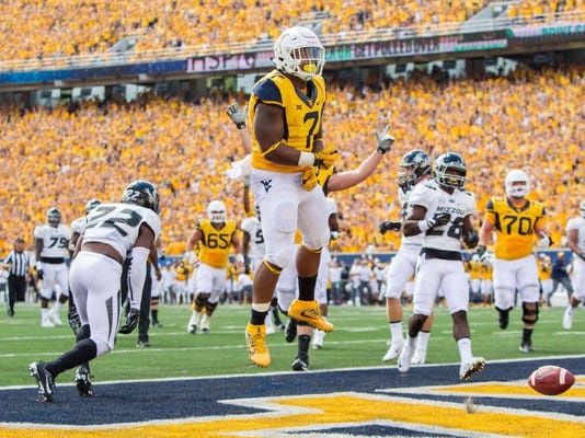 NCAA Football: Missouri at West Virginia