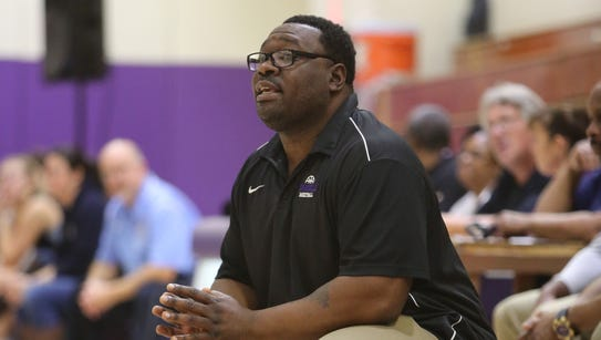 Robert Bynum, the head coach for the New Rochelle High