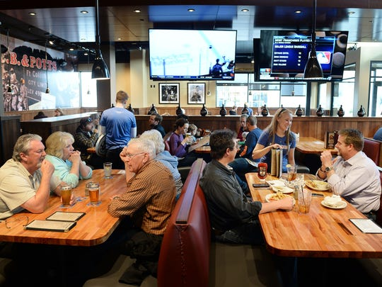 C.B. & Potts opened its new foothills location on Monday, April 11. The longtime Fort Collins restaurant moved from Campus West to be closer to its customers.