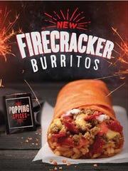Taco Bell Firecracker Burrito.