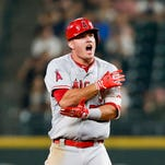 Mike Trout, Angels have playoff hopes in reach