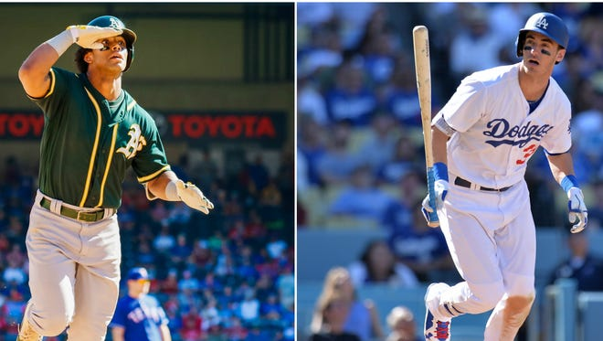 Arizona high school products Khris Davis and Cody Bellinger shined in 2017.