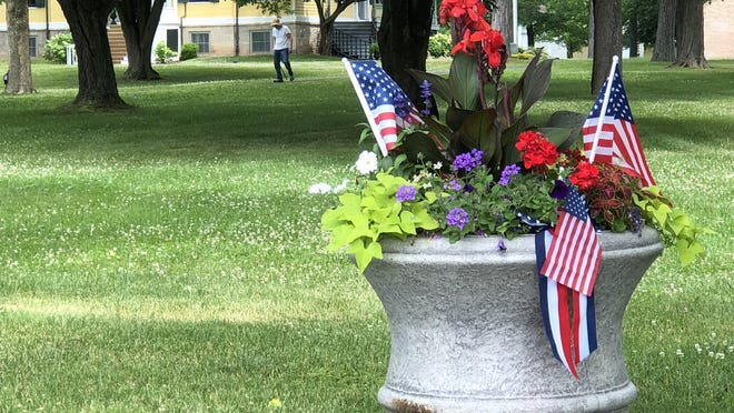 The Granger Homestead in Canandaigua is ready for the Fourth of July.