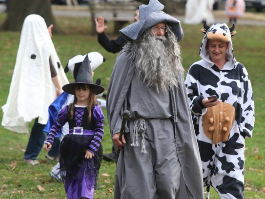 The Tarrytown Halloween Parade was held along North