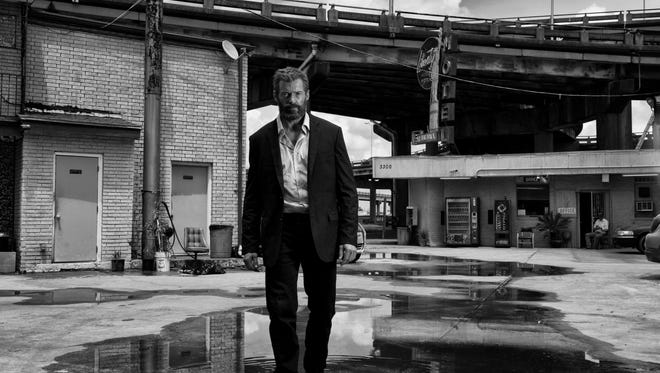 Hugh Jackman stars as Logan/Wolverine in LOGAN. Photo Credit: James Mangold.